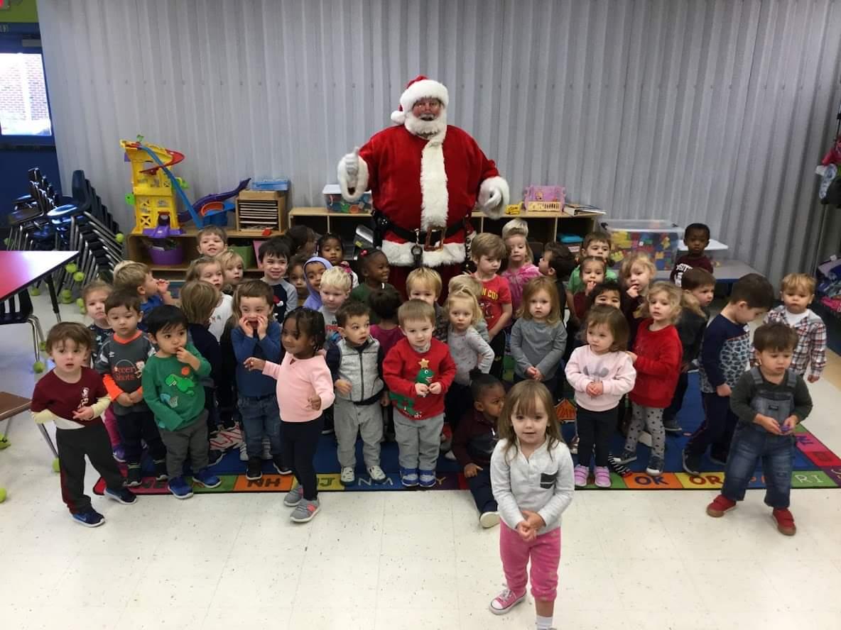 Santa Earl and Preschool