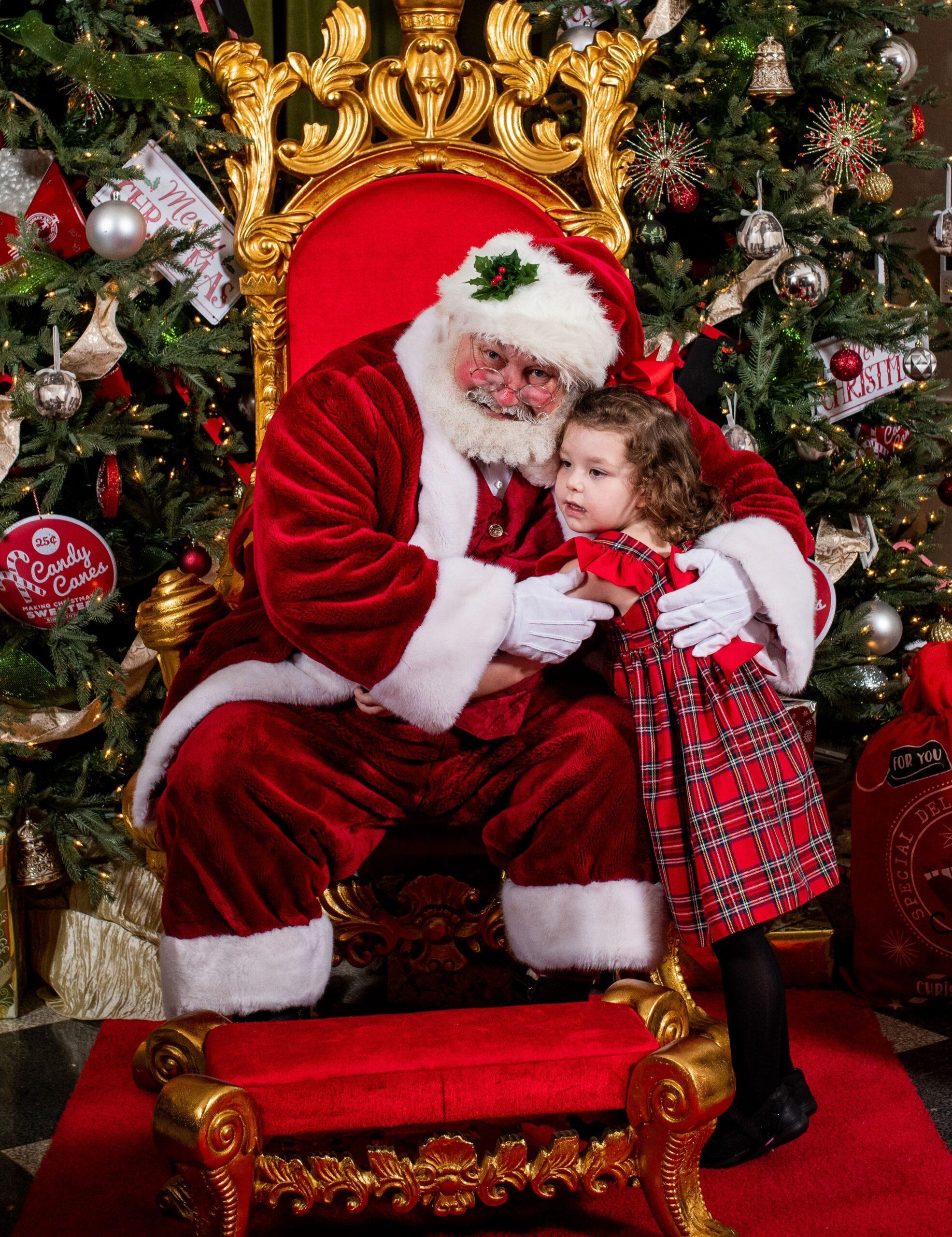 Santa Earl and more hugs