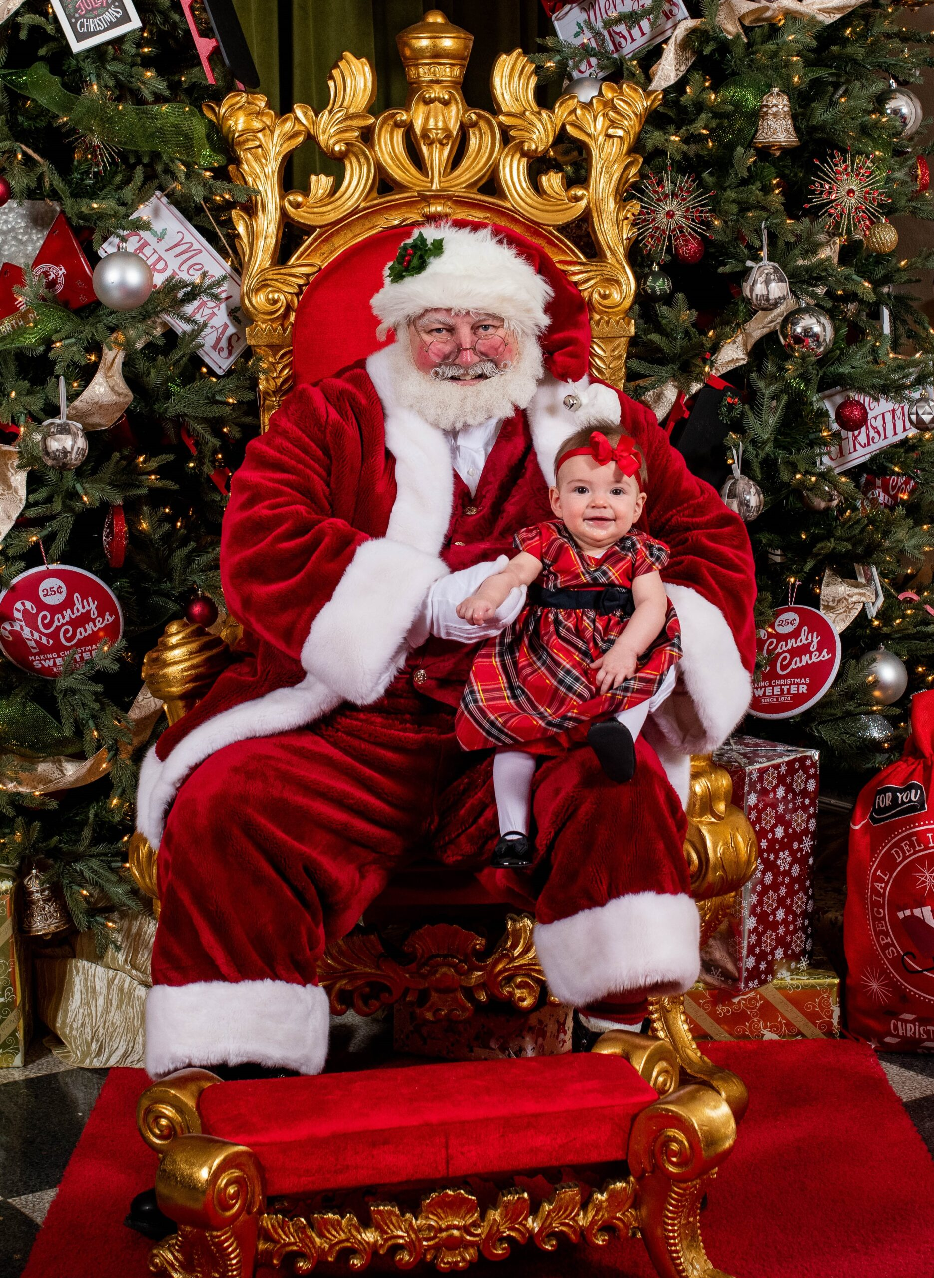 Santa Earl and precious